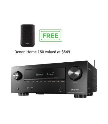 Denon AVR-X2700H 7.2ch 8K AV Receiver with HEOS Built-in